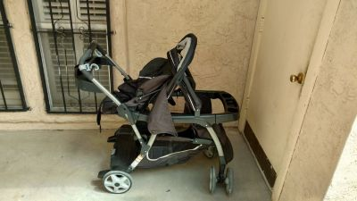 2 seat walk and ride stroller