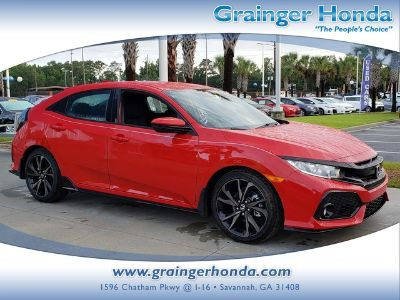 2019 Honda CIVIC HATCHBACK SPORT (Rallye Red)