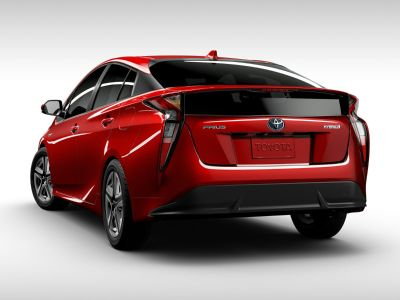 2018 Toyota Prius Two (Hypersonic Red)
