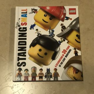 Lego Standing Small 30 Years of the Minifigure Book EUC