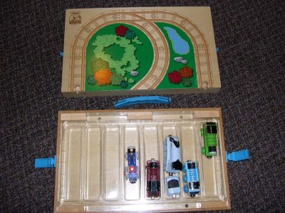 Thomas the Train, Take Along Playset with 5 trains