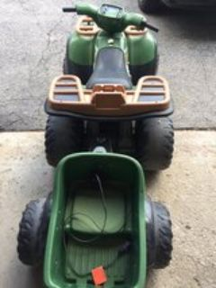 power wheels Kawasaki quad