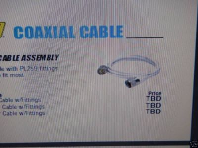 Find COAXIAL ANTENNA CABLE ASSEMBLY RG58U 50 19771 20FT motorcycle in Osprey, Florida, United States, for US $24.95