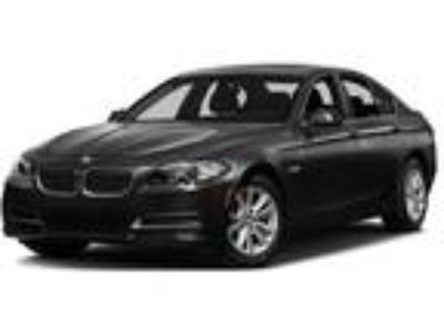 Used 2016 BMW 5 Series Black, 35.3K miles