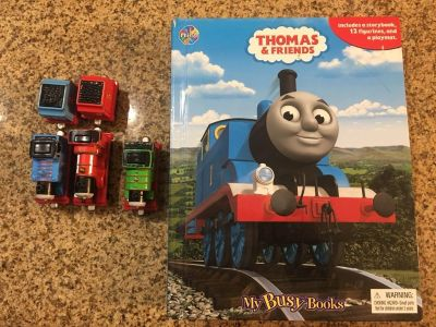 Thomas the Train Talking metal trains and busy book
