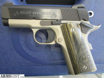 For Sale: Colt Night Defender 45 - New