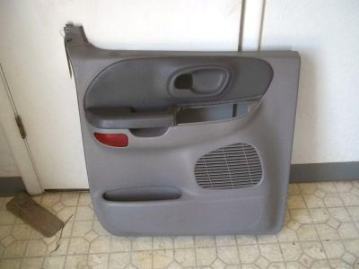Sell 01-03 Ford F150 Crew Cab Pickup OEM Left Driver REAR BACK Door Trim Panel Grey motorcycle in Tucson, Arizona, US, for US $35.00