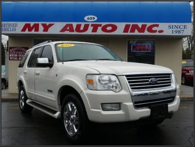 2007 Ford Explorer Limited (Oxford White)