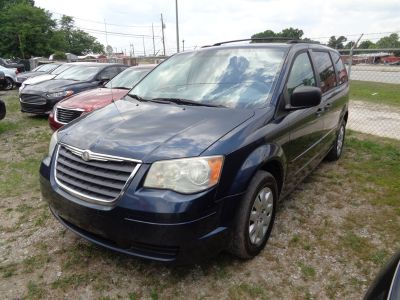 2008 Chrysler Town & Country LX (Blue)