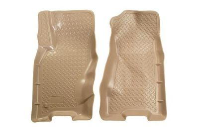 Buy Husky Liners 30603 99-04 Jeep Grand Cherokee Tan Custom Floor Mats 1st Row motorcycle in Winfield, Kansas, US, for US $91.95