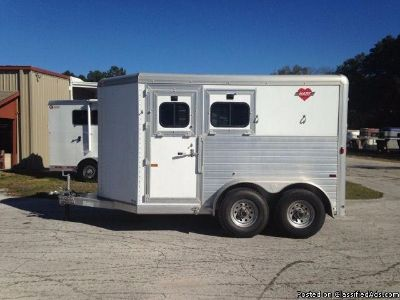 2003 Hart 2 horse trailer Slant Load