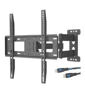 Tv wall mount Full motion. Holds 23-55 inch tv up to 99lbs