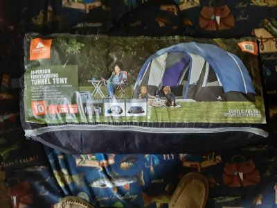 New 10 person tent