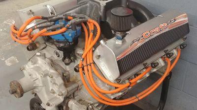Ford 374ci Aluminium Dry Sump Engine