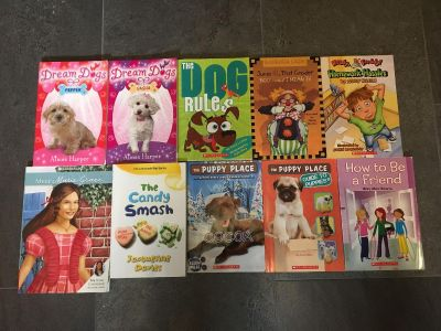 Kids Soft Cover Chapter Books