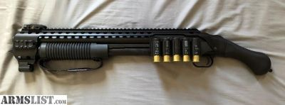 For Sale: Mossberg Shockwave with Black Aces Tactical Quadrail System