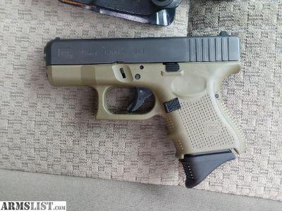 For Sale: OD Green Glock 26 Gen 4