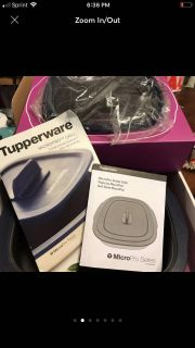 Tupperware Micropro Grill~ New in package