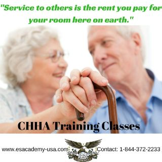Certified Home Health Aide classes offered today..!!!!
