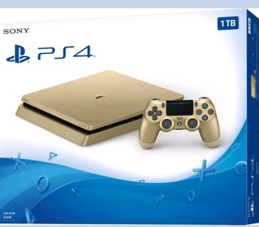 """""""BRAND NEW SONY PLAYSTATION 4 GOLD"""""""