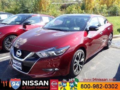 2018 Nissan Maxima 3.5 PLT SED (Carnelian Red)