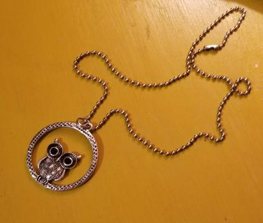 New Owl Necklace