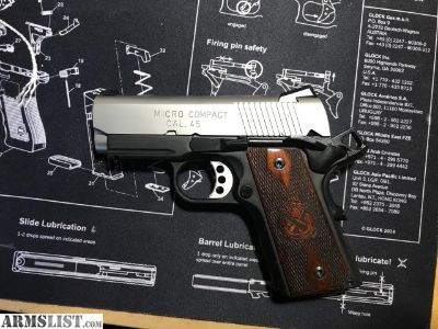 For Sale: Springfield 1911 micro