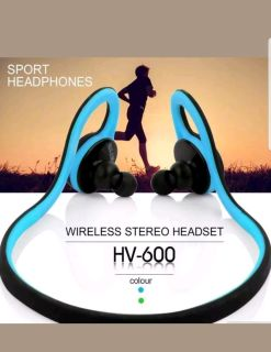 HV-600 Wireless Stereo Sports Headset (Blue and green available)