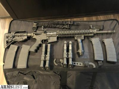 For Sale: Ruger Sr556- professionally customized