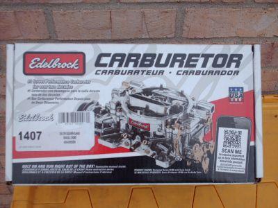 eledrock #1407(750cfm) performance carb