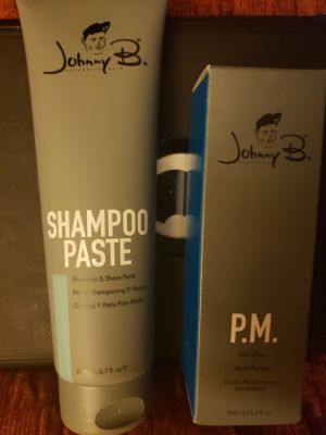 JOHNNY B HAIR CARE-PASTE & LOTION 4 SHAVING