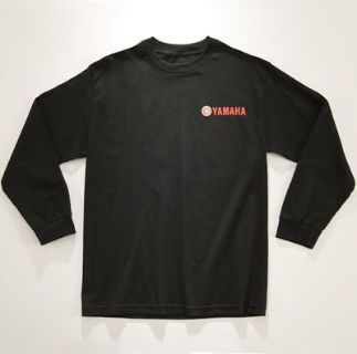 Find Yamaha Outboard Waverunner Black Long Sleeve T-Shirt XL motorcycle in Millsboro, Delaware, United States, for US $24.99