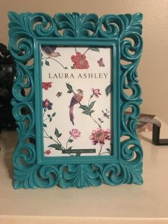 NEW turquoise picture frame