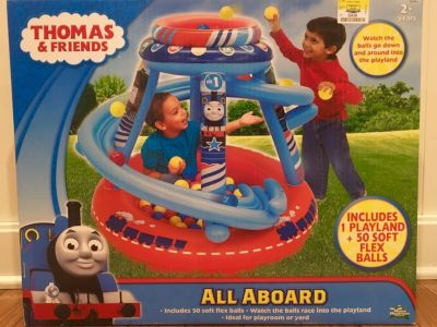 NEW! Thomas and Friends Ball Pit.