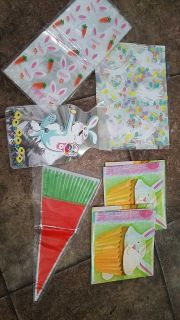 Basket bags and treat bags