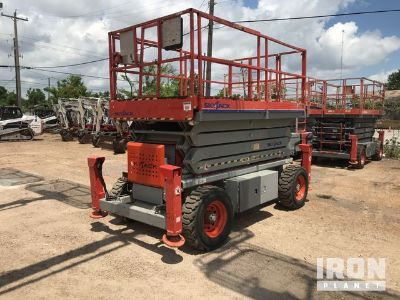 2012 (unverified) Skyjack SJ7135 4WD Dual Fuel Scissor Lift