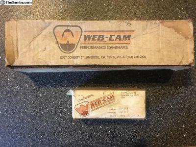 NOS WebCam type 4 914 camshaft 86 & Lifters