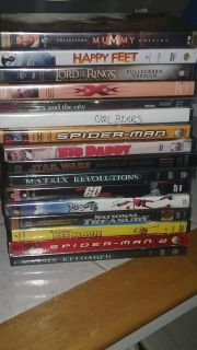 Lot of 20 dvds kids and adults all in great condition! Selling together