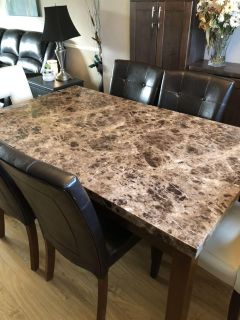 Large Kitchen table (chairs not included)