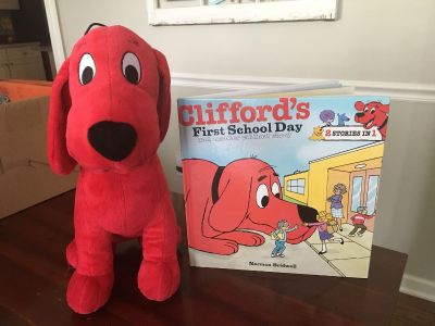 Stuffed Clifford with 2-in-1 book