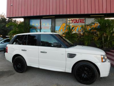 2009 Land Rover Range Rover Sport Supercharged (White)