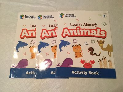Learn about animals book