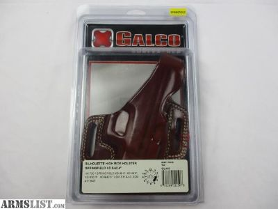For Sale: Galco Silhouette Hide Ride Holster Springfield XD/XDM 9/40/45