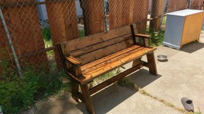 Bench that folds into picnic table