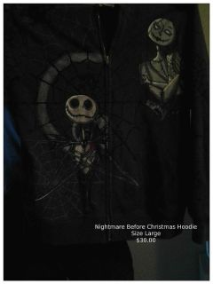 $30, Nightmare Before Christmas Hoodie