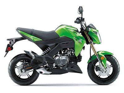 2017 Kawasaki Z125 Pro Sport Motorcycles North Reading, MA