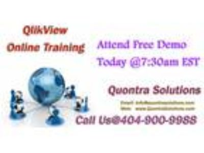 QlikView Online Training andacirc; Quontra Solutions