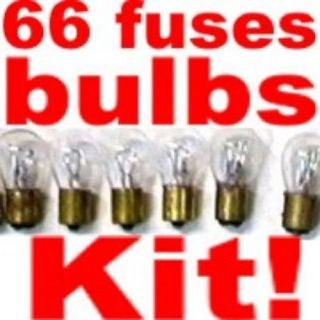 Find bulb & fuse kit Lincoln 1970-1975 Replace Dim Light Bulbs motorcycle in Duluth, Minnesota, United States, for US $27.40