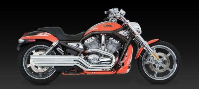 Find Vance & Hines Power Shots Slip-On Exhaust 02-07 Harley Davidson V-Rod motorcycle in Ashton, Illinois, US, for US $575.96