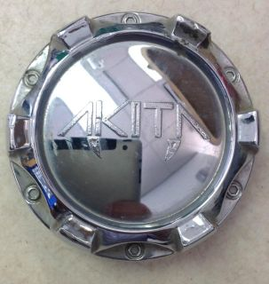 "Buy Akita Aftermarket Wheel Center Cap Chrome 10931875F-1 2.75"" Diameter motorcycle in Holt, Michigan, US, for US $35.00"
